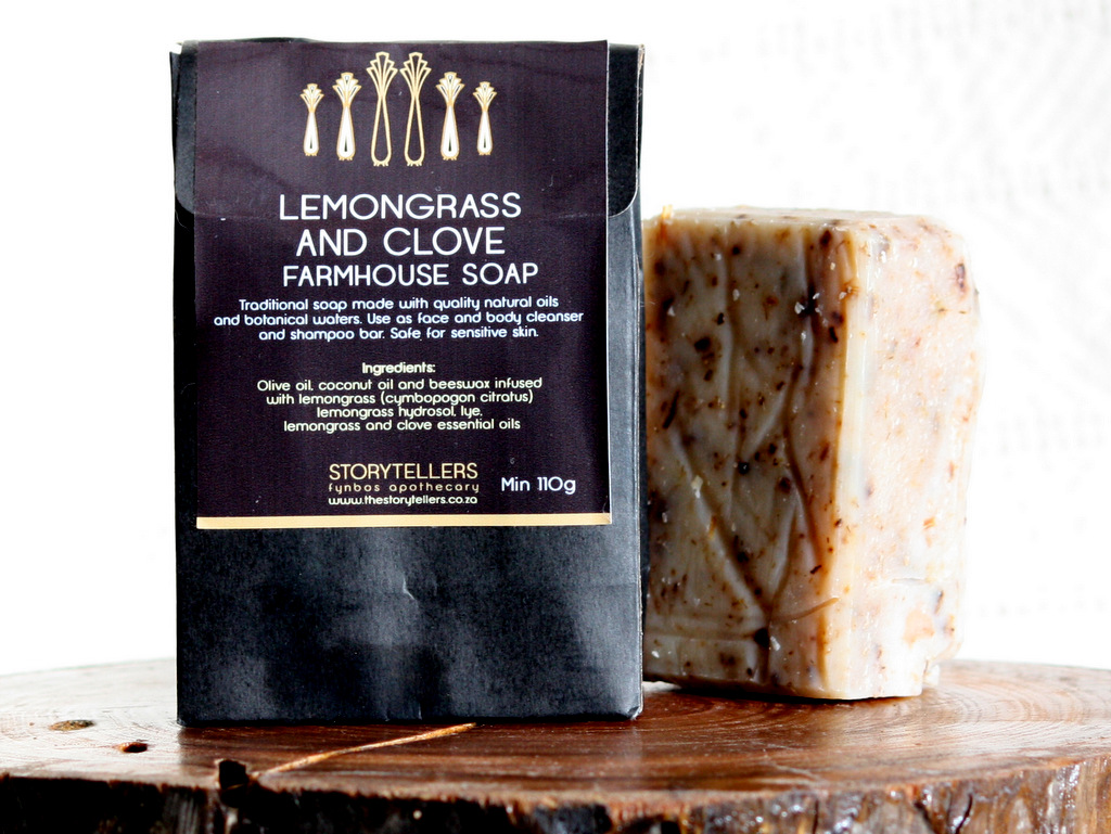 Lemongrass and Clove Farmhouse Soap