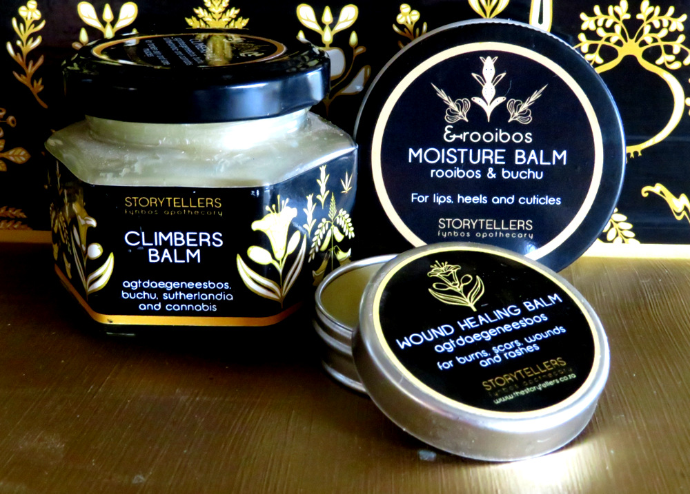 storytellers balms, oils and tinctures